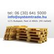 System Trade Kft. - raklap vétel-eladás