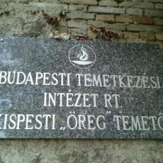 Kispesti öreg temető (Fotó: foursquare.com)