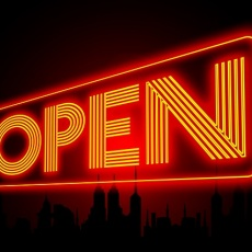 Nyitva vagyunk!