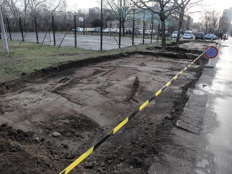 A Csokonai-Móricz utcáknál is új parkolók épülnek (forrás: uj.kispest.hu)