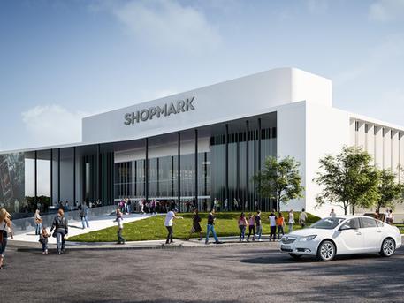 Ilyen lesz a felújított bevásárlóközpont (forrás: portfolio.hu)