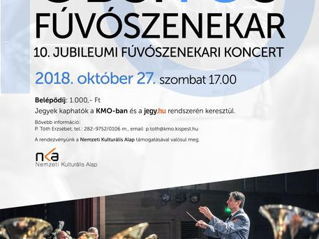 Obsitos Fúvószenekar jubileumi koncertje