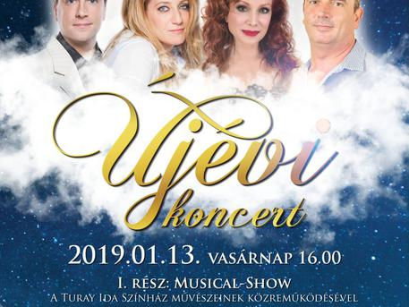 Újévi koncert KMO