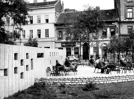Klauzál tér, fotó: Főkert