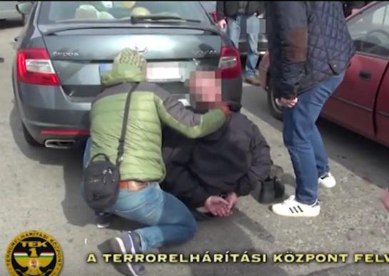 Kispesten fogták el (fotó: Terrorelhárítási Központ)