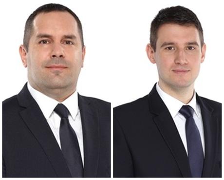Tubák István és Bencsik János