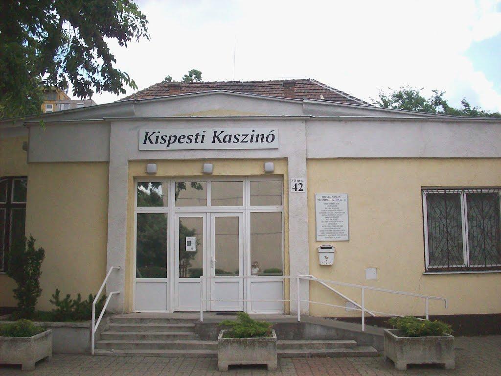 A Kispesti Kaszinó ad otthont az író-olvasó találkozónak