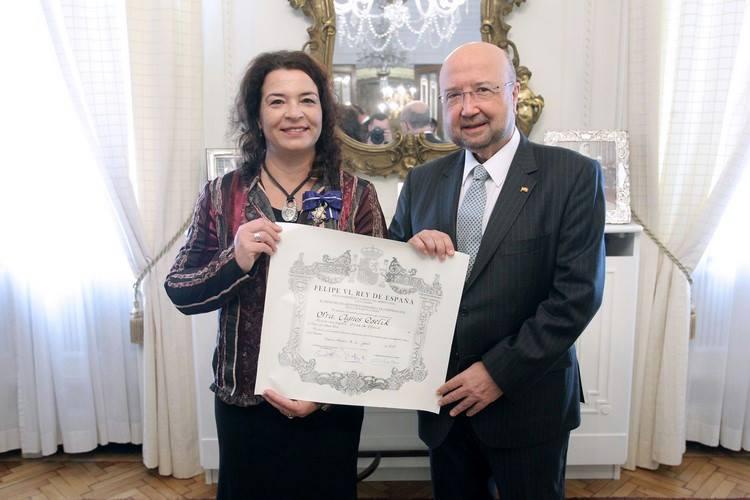 Komoly elismerés (fotó: kk.gov.hu)
