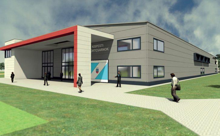 Ilyen lesz az új sportcsarnok (forrás: Kispest Női Kézilabda Klub)